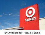 target retail store located in... | Shutterstock . vector #481641556