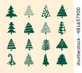 icons set of vector hand drawn... | Shutterstock .eps vector #481657900