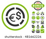 currency diagram icon with... | Shutterstock . vector #481662226