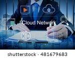 big data domain web page seo... | Shutterstock . vector #481679683
