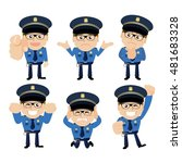 people set   profession  ... | Shutterstock .eps vector #481683328