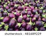 close up round fresh organic... | Shutterstock . vector #481689229