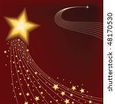 star background   vector... | Shutterstock .eps vector #48170530