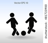 football vector icon | Shutterstock .eps vector #481723900