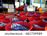 a stall selling fish  taiwan... | Shutterstock . vector #481739989