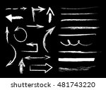 collection of graphic elements. ... | Shutterstock .eps vector #481743220
