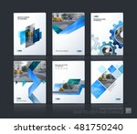 brochure template layout  cover ... | Shutterstock .eps vector #481750240