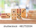 Wood Domino Brain Game For Kid...