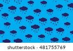 vector seamless pattern of... | Shutterstock .eps vector #481755769