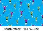 vector seamless background of... | Shutterstock .eps vector #481763320