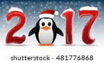 2017 happy new year background... | Shutterstock .eps vector #481776868