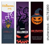 set of vertical banners for... | Shutterstock .eps vector #481781800