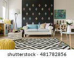 shot of a spacious living room... | Shutterstock . vector #481782856