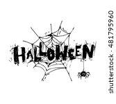 Happy Halloween Poster  Banner...