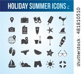 holiday summer vector icon... | Shutterstock .eps vector #481810510