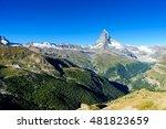 matterhorn   beautiful... | Shutterstock . vector #481823659