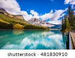 the smooth turquoise water in... | Shutterstock . vector #481830910