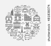travel circular illustration.... | Shutterstock .eps vector #481838374