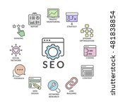 search engine optimization... | Shutterstock .eps vector #481838854
