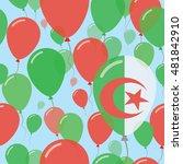 Algeria National Day Flat...