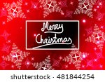 bright red background for a... | Shutterstock .eps vector #481844254