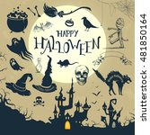 vector illustration of... | Shutterstock .eps vector #481850164