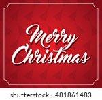 christmas card   eps 10 | Shutterstock . vector #481861483