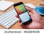chiang mai  thailand   january... | Shutterstock . vector #481869658