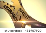 quality assurance on the... | Shutterstock . vector #481907920