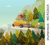 vacation this summer. enjoy it. ...   Shutterstock .eps vector #481922614