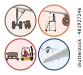 set of images . mechanic... | Shutterstock .eps vector #481927246