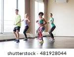 fitness  sport  dance and... | Shutterstock . vector #481928044