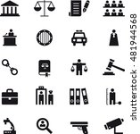 justice   law icons | Shutterstock .eps vector #481944568