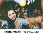 taking self portrait at the... | Shutterstock . vector #481967830