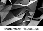 multifaceted geometric... | Shutterstock . vector #482008858