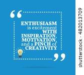 inspirational motivational... | Shutterstock . vector #482013709
