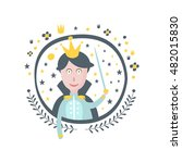 prince fairy tale character... | Shutterstock .eps vector #482015830