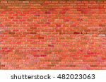 old brick wall  vintage colours | Shutterstock . vector #482023063