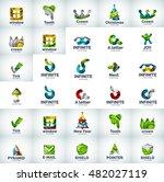 vector abstract business logo...   Shutterstock .eps vector #482027119
