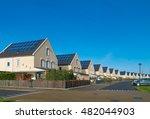 row of newly build modern... | Shutterstock . vector #482044903