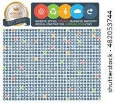big icon set design universal... | Shutterstock .eps vector #482053744