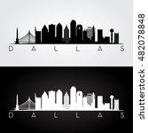 Dallas Usa Skyline And...