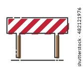 traffic sign icon vector | Shutterstock .eps vector #482121976