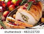 Stuffed Turkey Breast With...