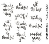 thanksgiving day vintage gift... | Shutterstock .eps vector #482124520