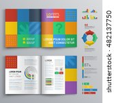 business brochure template... | Shutterstock .eps vector #482137750
