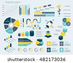infographic elements collection ... | Shutterstock .eps vector #482173036