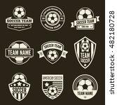 set of vector logotypes... | Shutterstock .eps vector #482180728