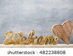 home. decor home. message... | Shutterstock . vector #482238808
