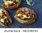 Sweet Potatoes With Spicy...